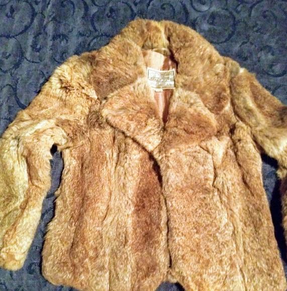 Vintage Jackets & Blazers - 1950s Vintage fur jacket.